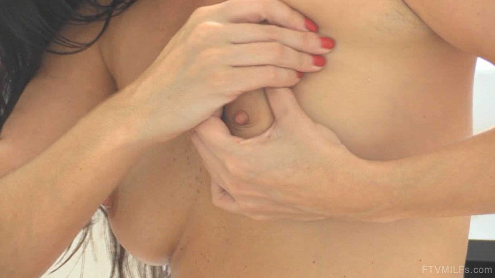 Hard Boobs Massage with FTV MILFs Kobe