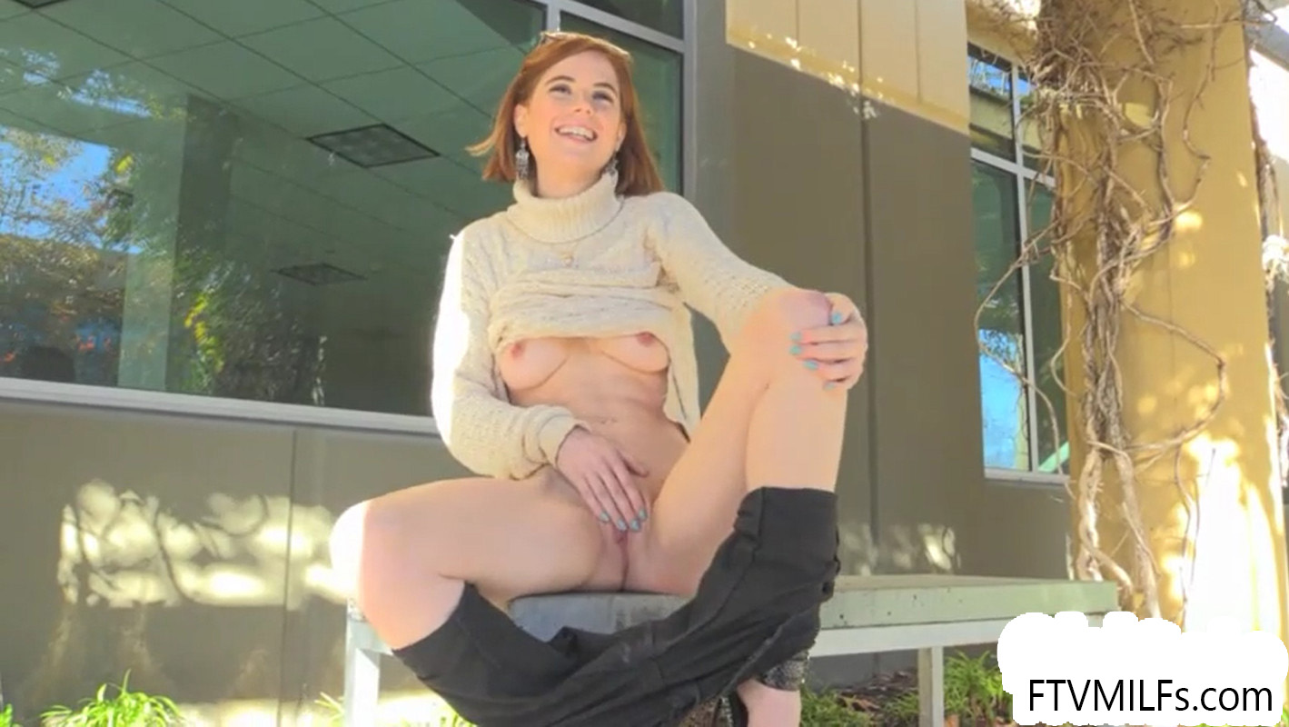 FTV MILFs Pepper Talking & Masturbating Outdoors